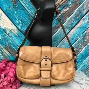 Vintage Coach Leather Hobo bag